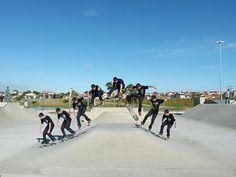Pista de skate do parque das águas Sorocaba SP.