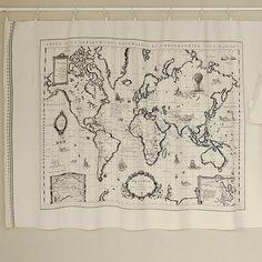 cloth map/ bw