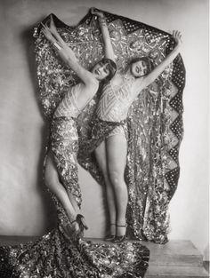 Chorus girls in the revue 'Wien lacht wieder'    by Karl Farkas and Fritz Gruenbaum, Stadttheater, Vienna, 1929