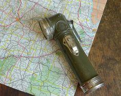 Vintage1940s Boys Scout L-Neck Flashlight
