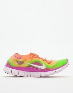 Just picked these up for my new running shoes! Nike Free Flyknit+ in Atomic Pink