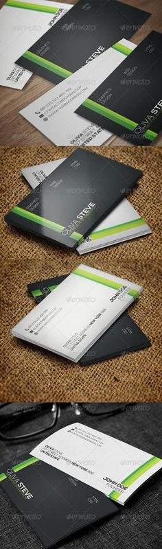 Buy Corporate Business Card by on GraphicRiver. Business Card for almost any kind of company, or even personal use. All text layers can be changed with one click. Minimal Business Card, Corporate Business, Business Cards, Information Graphics, Modern Logo, Print Templates, Creative Cards, Logo Inspiration