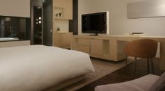 Fred and I stayed here - loved the room and location Andaz Wall Street NYC Large King Room