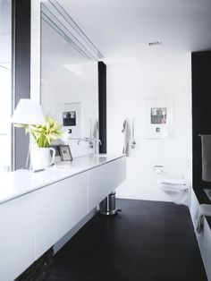 Sinks, ikea, takes up less space flat against the wall