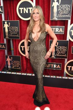Jennifer Aniston during 21st SAG Awards 2015