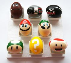Nintendo gamers, you need to make these Mario-inspired Easter eggs.