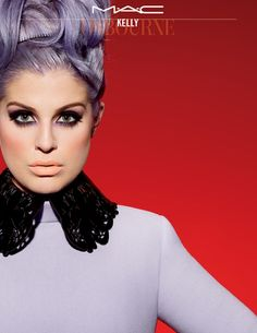 Absolutely LOVE Kelly's makeup look in this ad for MAC!!!/ MAC Sharon and Kelly Osbourne Collection Coming Soon
