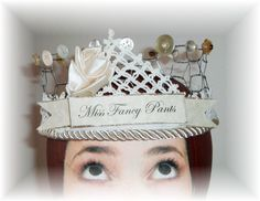 idea for a school play - crown with a chicken wire base