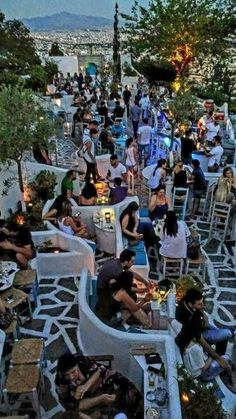 The Secret Greece is a cultural portal showcasing articles for Greece, suggesting destinations, gastronomy, history, experiences and many more. Greece in all Mykonos Greece, Crete Greece, Santorini, Menu Vintage, Places To Travel, Places To Visit, Travel Destinations, Athens City, Athens Bars