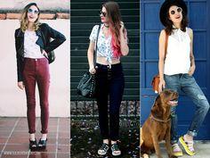 Como usar Melissa: 3 peças para apostar com o calçado! Sandália Melissa, Melissa, calçado, cabelo rosa, look, look com calça, calça com Melissa, look do dia