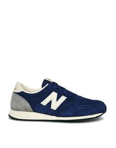 New Balance Blue 420 Trainers