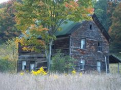 The Mull House, Somerset County, PA...where church services were held until a church was built.
