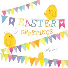 Clare Wilson - CW Easter Bunting Chicks