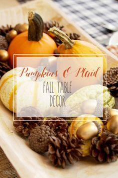 Pumpkins and Plaid F