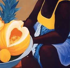 Ana Mercedes Hoyos Hispanic American, American Art, Black Women Art, Black Art, Colombian Art, Fashion Painting, My Favorite Image, Female Art, Food Styling