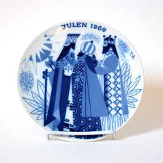 Porsgrund ceramic plate