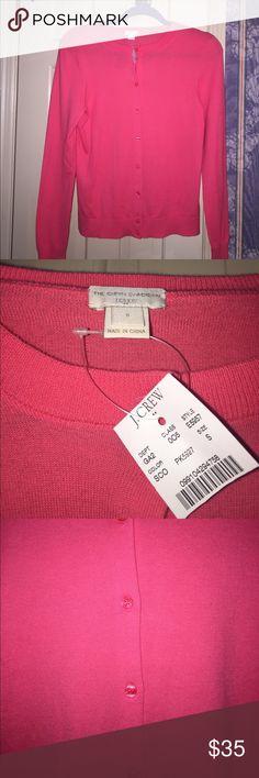 I just added this listing on Poshmark: J Crew NWT* bright coral Caryn Cardigan sweater. #shopmycloset #poshmark #fashion #shopping #style #forsale #J. Crew #Sweaters