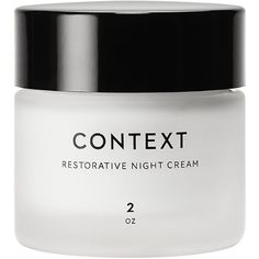 Context Restorative Night Cream (€39) ❤ liked on Polyvore featuring beauty products, skincare, face care, face moisturizers, beauty, fillers and no color