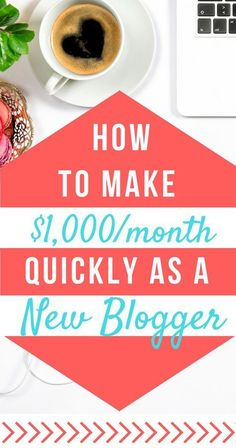 How to Make Money Blogging for Beginners (affiliate link) | How to Monetize a Blog | Blog Tips | Make Money Online |