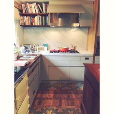 """239 Likes, 10 Comments - Elly Curshen 🍐 (@ellypear) on Instagram: """"My best mate's new gaff. Exceedingly not shit. What a kitchen to cook in!! That is parquet flooring…"""""""