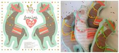 Llama soft toys on a yard) custom fabric by cjldesigns for sale on Spoonflower Quilting Projects, Sewing Projects, Craft Projects, Projects To Try, Alpacas, Plush Craft, Fat Quarter Projects, Plushie Patterns, Easy Handmade Gifts