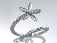 Engagement Ring Leaf 50