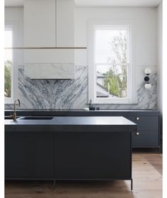 Victorian gem transformed by designer Hecker Guthrie, photography by Shannon McGrath |Images sourced from @thedpages blog| #heckerguthrie #perioddettailling #contemporarykitchen #kitcheninspo