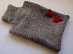 Hey, I found this really awesome Etsy listing at http://www.etsy.com/listing/165785132/grey-heart-felted-wool-hot-water-bottle