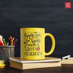 Give your child's teacher a big thank you with a custom photo mug! Click here to learn more. Personalized Photo Mugs, Custom Photo Mugs, Custom Mugs, Photo Mug Printing, Ways To Wake Up, Ceramic Mugs, Special Gifts, Photo Gifts, Teacher