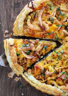 Thanksgiving Pizza