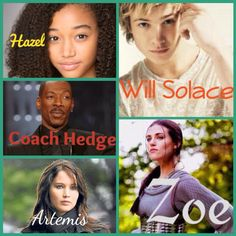 Ok here's my second PJO/HOO dream cast. Comment what you think or if you have any suggestions!