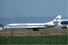 Caravelle. SATA Aerospatiale SE-210 Caravelle 10B1R. I took a SATA flight KR-157 Copenhagen-Barcelona August 1977