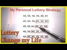 Lottery Change My Life - My Personal Lottery Technique to win the Lottery Jackpot Picking Lottery Numbers, Lucky Numbers For Lottery, Lotto Winning Numbers, Lotto Numbers, Winning The Lottery, Winning Powerball, Lottery Strategy, Lottery Tips, Lottery Tickets