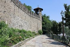 Torino - Parco del Valentino, Mura Borgo Medievale  #TuscanyAgriturismoGiratola