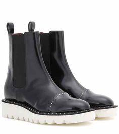d4b7f09e132d Ankle Boots Odette   Stella McCartney Black Chelsea Ankle Boots, Black  Boots, Stella Mccartney