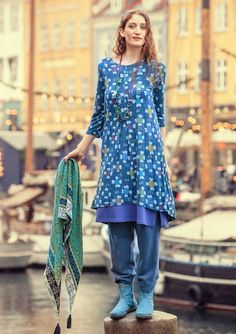"""""""Ditte"""" dress in viscose – Skirts & dresses – GUDRUN SJÖDÉN – Webshop, mail order and boutiques 
