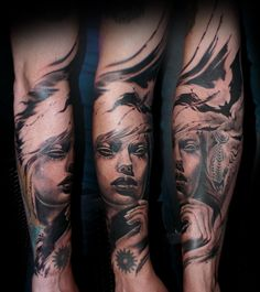 Artist: Rainer Lillo / Backbone Tattoo & Art Gallery / Tartu, Estonia / Rainer.Lillo@gmail.com / +372 58 36 99 09