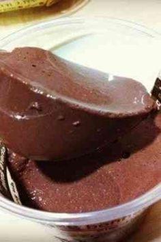 Tofu cocoa pudding 簡単!ヘルシー豆腐ココアプリン♥