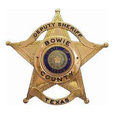 Bowie county Sheriff TX
