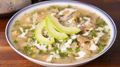 Crock-Pot Salsa Verde Chicken Soup   - Delish.com