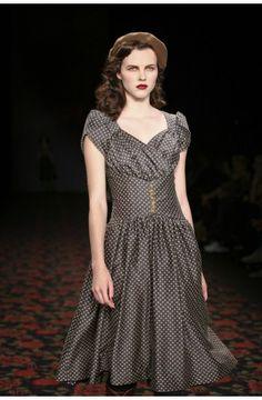 Souvenir Dress Autumn Leaves - 2012/2013 Autumn/Winter Collection