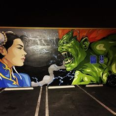 You'd like this one by smithtoverton #arcade #microhobbit (o) http://ift.tt/1Ram72j ass wall at club 82. A awesome barcade in DTLA. #streetfighter #streetfighter2 #chunli #blanka #club82 #barcade #dtla #la #losangeles  #capcom #banjotransfer #tacos #pinball #beer #82 #1up