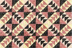 Windmills Quilt Block Pattern