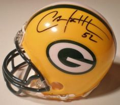 Clay Matthews Autographed Greenbay Packers Riddell Mini Helmet