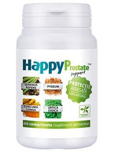 Protectia prostatei HappyProstate - HappyProstate amelioreaza tulburarile de functionare ale prostatei, ajutand la reducerea disconfortului manifestat prin urinari frecvente (in special noaptea), flux urinar slab, senzatii de urinare incomplete, tulburari de potenta.