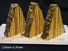 Romanian Food, Romanian Recipes, Sweet Tooth, Vegetables, Desserts, Cakes, Tailgate Desserts, Dessert, Cake