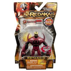 Redakai  Basic Figure with Card  Metanoid -- Read more  at the image link. (Note:Amazon affiliate link) #ToysGames5To7Years