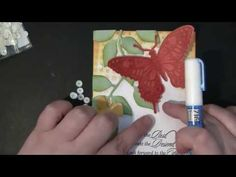 PB, Penny Black and Jill Foster, Delicate Wings Creative Die - YouTube