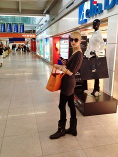 airport, street style