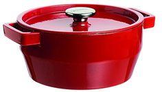 Pyrex Slow Cook 4936877 Casserole Pan Round L Cast Stainless-Steel Red Best Casserole Dish, Casserole Pan, Casserole Dishes, Slow Cooking, Cooking Dishes, Cooking Utensils, Pyrex, Plaque En Fonte, Cleaning